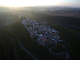 Vista aérea de Alarcón ( Cuenca)