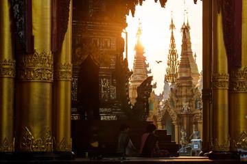 Shwedagon Pagode, Rangoon, Myanmar