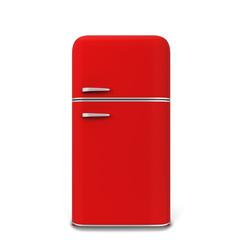 Retro kitchen fridge