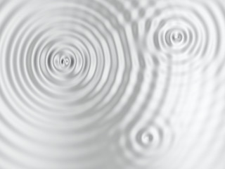 Silver rippled surface Wall mural