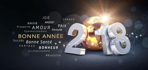 Bonne Année 2018 ! Meilleurs voeux