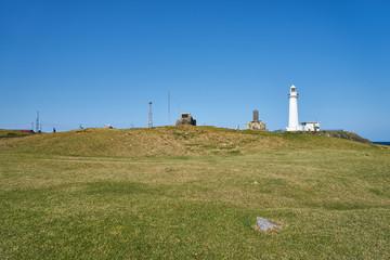 尻屋崎灯台と青空