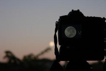 camara y luna