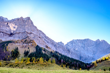 Wall Mural - karwendel mountains