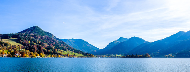 schliersee lake in bavaria