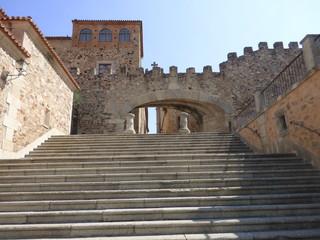 Cáceres (Extremadura) fue declarada Patrimonio de la Humanidad por la Unesco en 1986