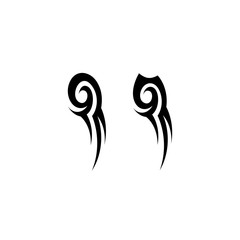 Abstract tribal tattoo