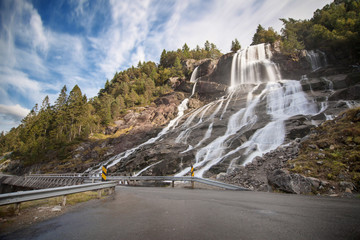 Furebergsfossen Waterfall