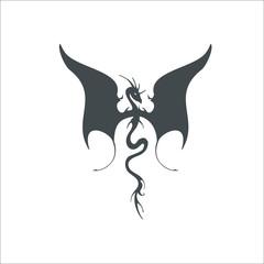 Flying dragon icon