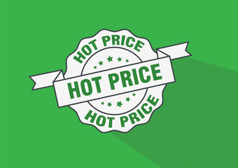 Hot price rubber stamp icon