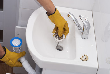 drain cleaning photos royalty free images graphics vectors videos adobe stock. Black Bedroom Furniture Sets. Home Design Ideas