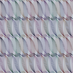 Seamless ripple pattern. Repeating vector texture. Wavy graphic background. Simple linear waves.