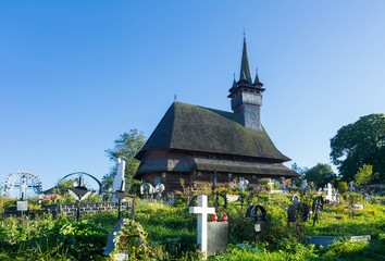 Biserica Sf. Nicolae in Maramures is wooden church