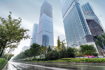 China 's skyscrapers in Xi'an