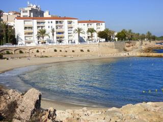 Ametlla de Mar. Pueblo de costa de Tarragona, (Cataluña,España)