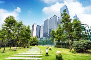 Chongqing's modern buildings