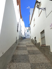 Aroche (Huelva) Pueblo historico de Andalucia, España