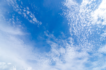 Wall Mural - Blue sky with cloud