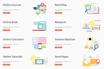 E-Learning and Online Education Banner Design