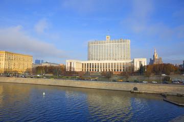 Москва. Белый Дом (здание правительства).