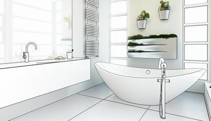 Modern Bathroom Adaptation (project)