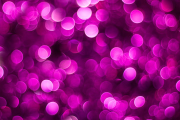 Purple shiny glitter holiday beautiful abstract blur bokeh background