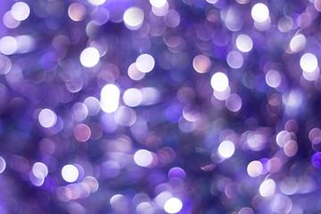 Blue shiny glitter holiday beautiful abstract blur bokeh background