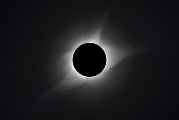 Total solar eclipse 2017.