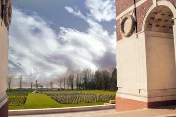Le mémorial Franco-Britannique - Thiepval, Somme, Hauts de France
