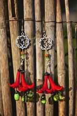 Beautiful romantic earrings