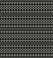geometric pixel pattern