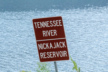 Tennessee River Sign