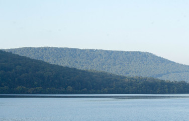 Tennessee River Mountains near the Reservoir