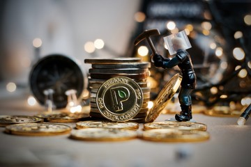 Christmas Peercoin Coin