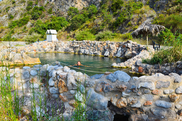 Thermal springs of Kamena Vourla.