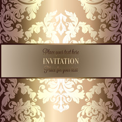 Abstract background with vintage frame