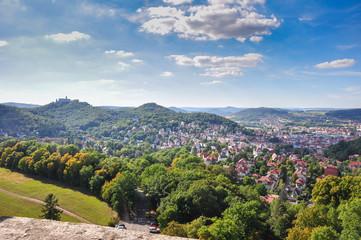 Stadt Eisenach in Thüringen