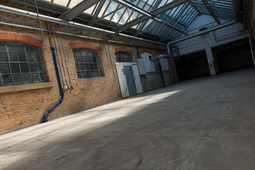 Renovierte alte Fabrikhalle 2