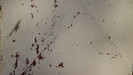 Metal com Ferrugem e tinta descascada