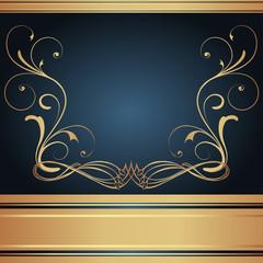 Background-Elegant Blue for Wedding or Corporate