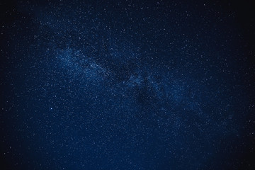 milky way star night sky winter background