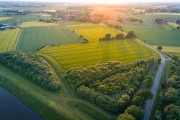 Ländlicher Raum in Niedersachsen, Deutschland
