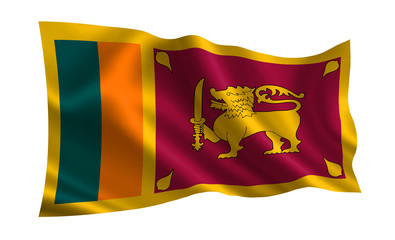 Sri Lanka Flag A Series Of Flags The World