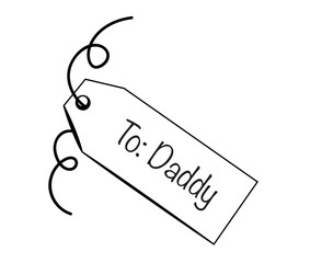 To Daddy Tag