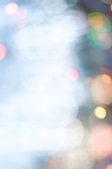 Abstract bokeh / blurred background. Defocused circle lights
