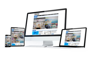 mobility devices white screen magazine responsive design