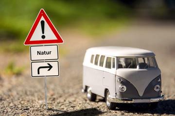 Schild 136 - Natur