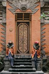 Puri Saren Agung (Ubud Palace). Temple in Bali, Indonesia