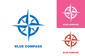 Compass Logo Template Design