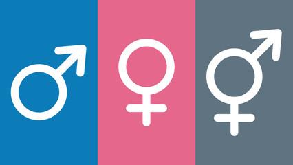 gsn1 GenderSignNew gsn - Drittes Geschlecht im Geburtenregister - weiblich - männlich - inter / divers - Intersexuelle Menschen - Intersexualität - Zeichen - banner 16zu9 g5650